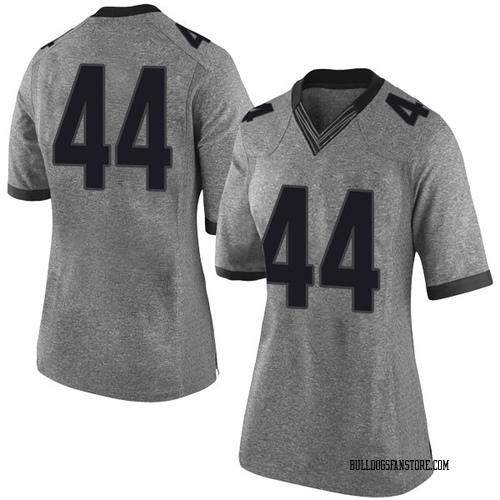 Women's Nike Evan Arnold Georgia Bulldogs Limited Gray Football College Jersey
