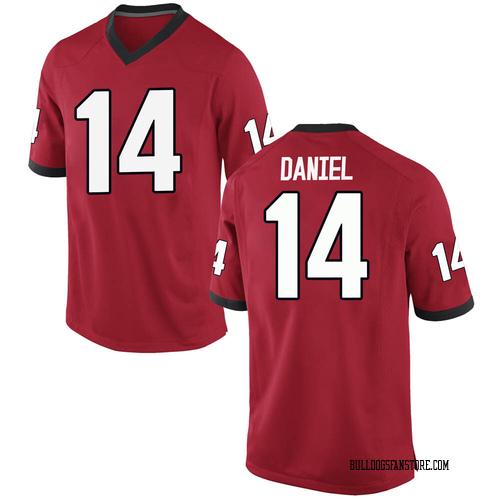 Youth Nike DJ Daniel Georgia Bulldogs Replica Red Football College Jersey