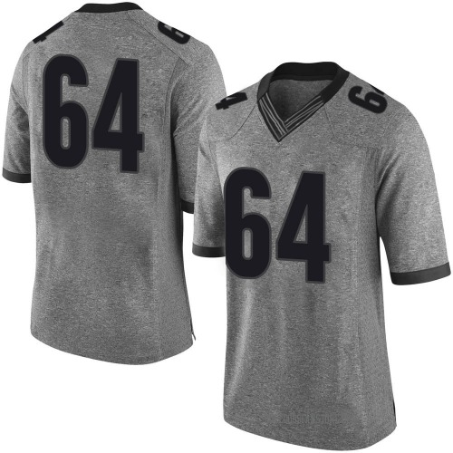 Youth Nike JC Vega Georgia Bulldogs Limited Gray Football College Jersey